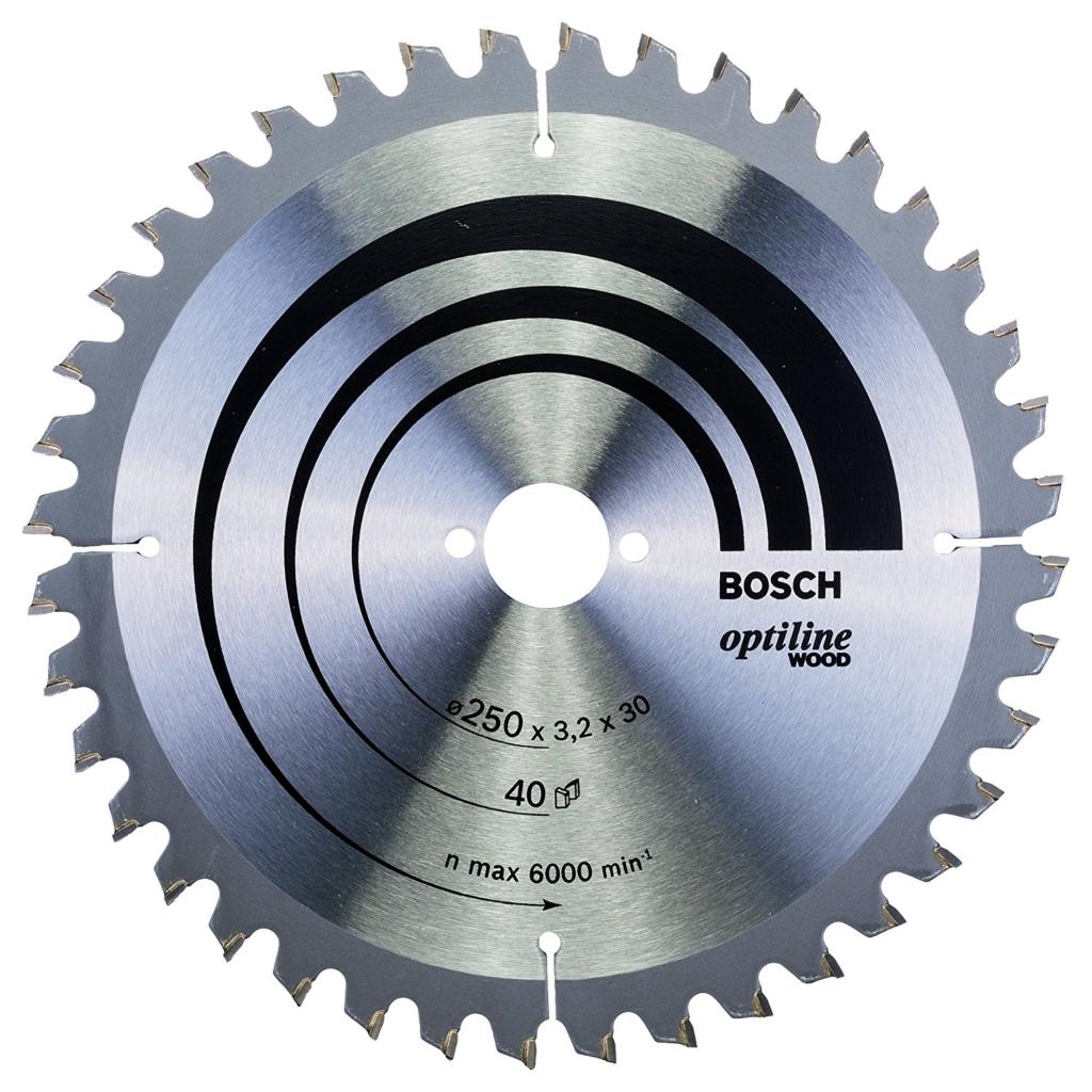 Kreissägeblätter für die Kappsäge - Bosch Optiline