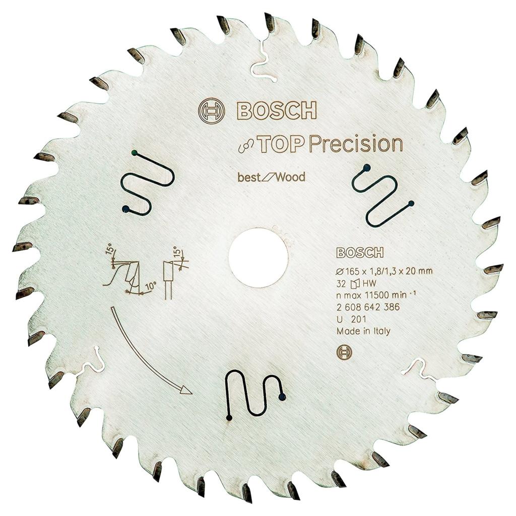 Kreissägeblätter für die Kappsäge - Bosch Top Precision