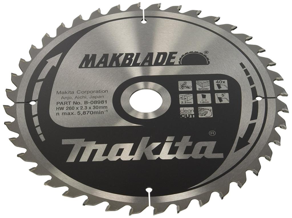 Kreissägeblätter für die Kappsäge - Makita Makblade