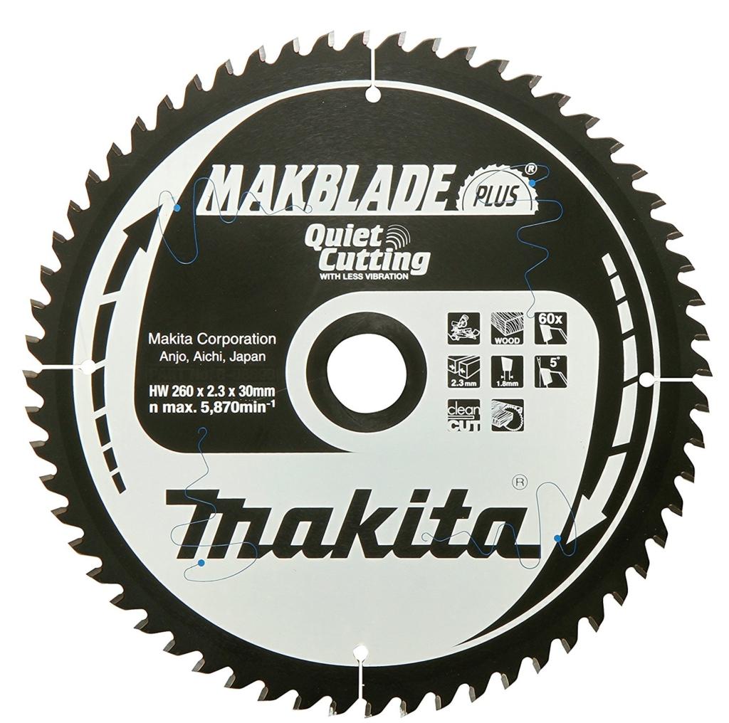 Kreissägeblätter für die Kappsäge - Makita Makblade plus