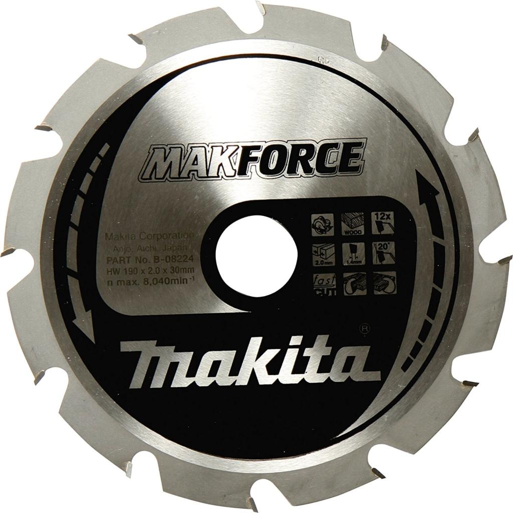 Kreissägeblätter für die Kappsäge - Makita Makforce