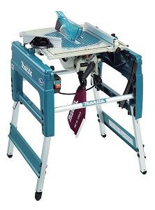 Kappsägen mit Untergestell-Makita LF 1000 Tischkreissäge